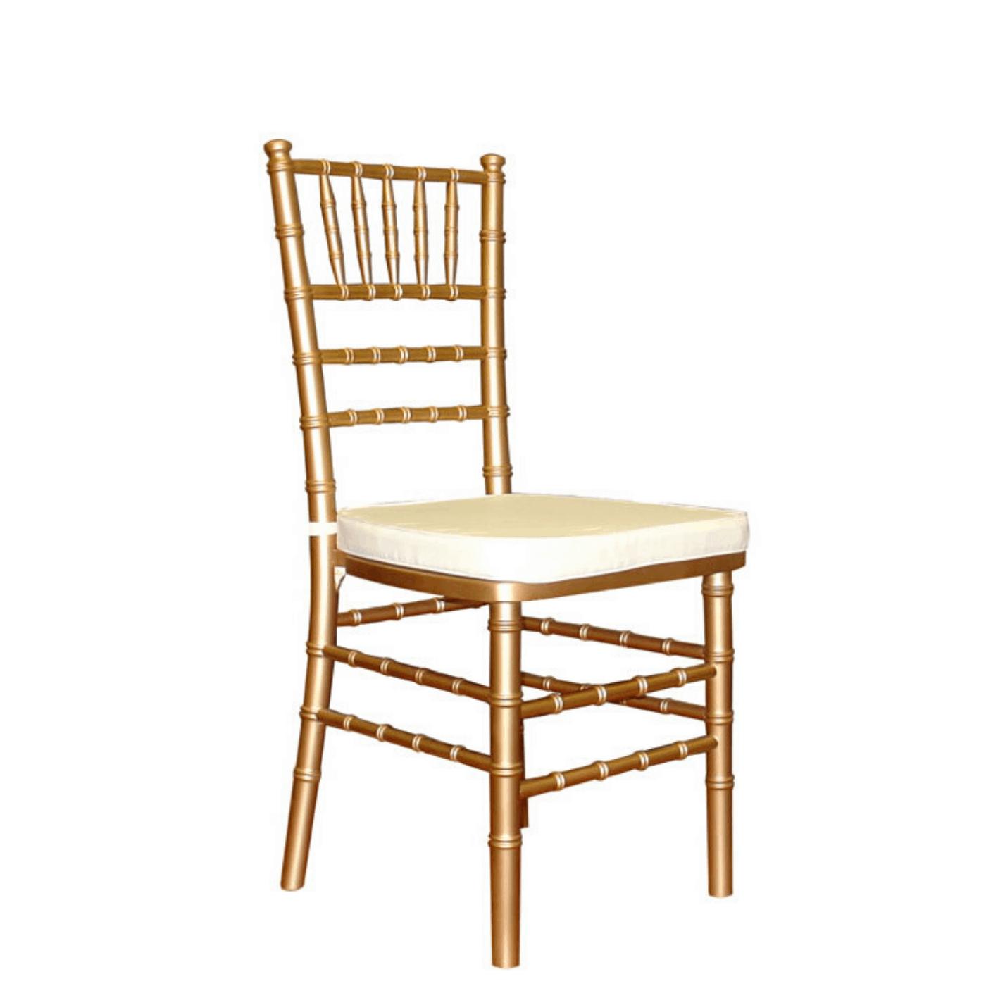 krzesło chiavari złote na wesela