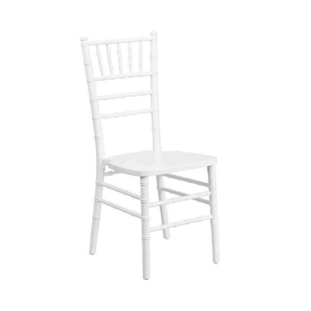 krzesło chiavari białe na wesela